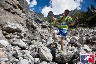 .....und auch volle Konzentration beim Bergablaufen...