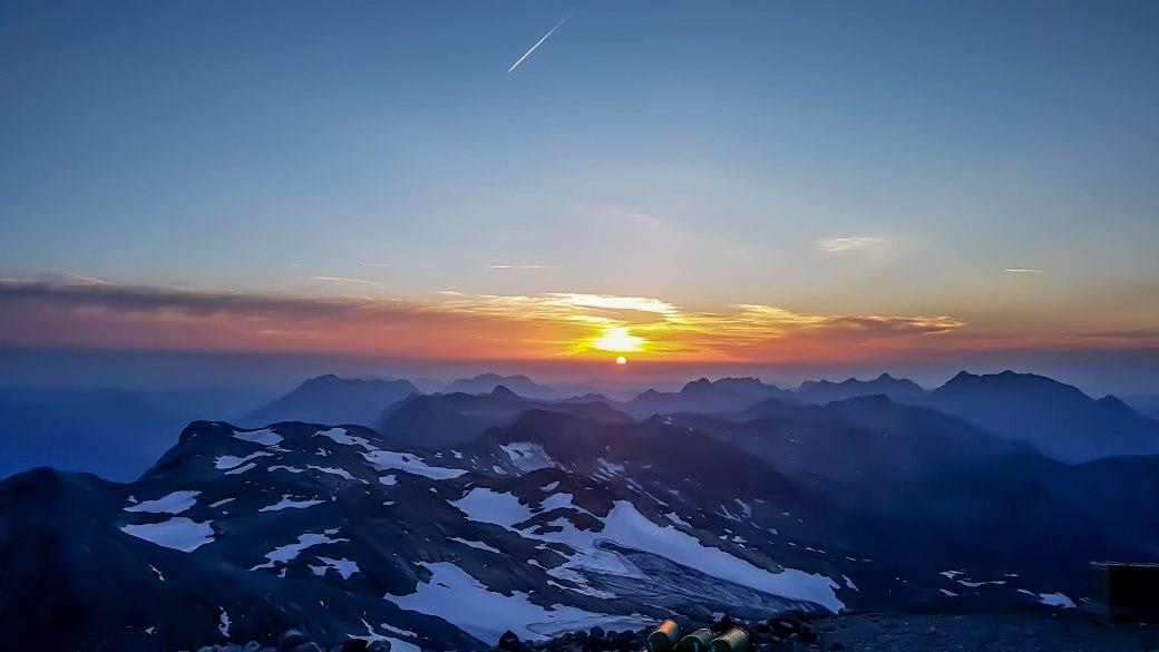 Abendstimmung am Gipfel
