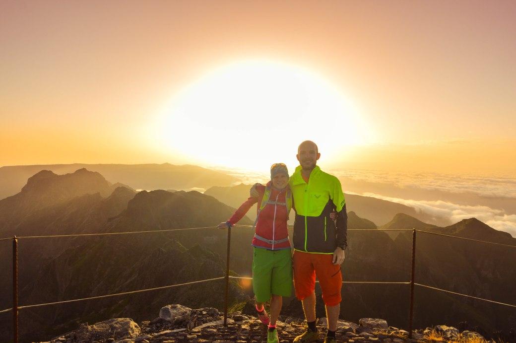 Die Belohnung für unsere Wanderung am Pico Ruivo