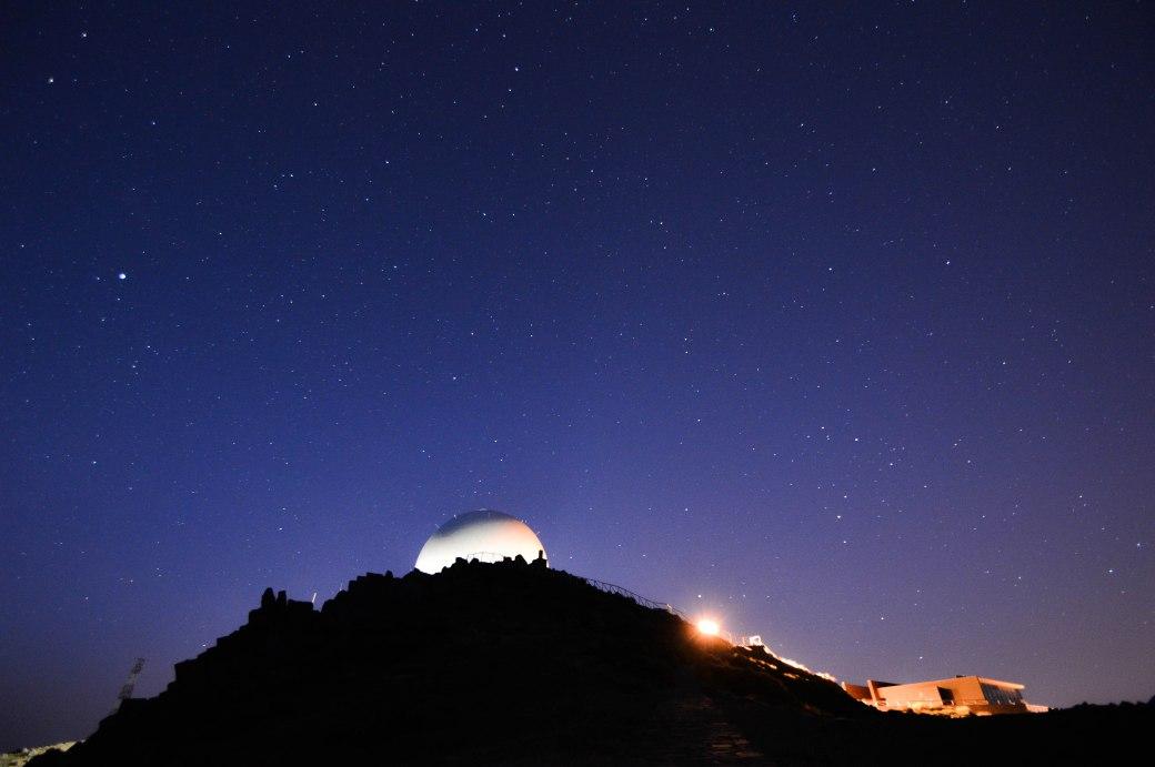 Sternenhimmel über dem Pico Arieiro